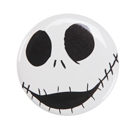 Xmas Jack - The Nightmare Before Christmas Jack Skellington Happy Button