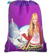 Drawstring Bag Hannah Montana Purple
