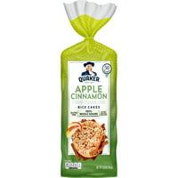 Quaker Rice Cakes, Apple Cinnamon, 6.53 Oz.