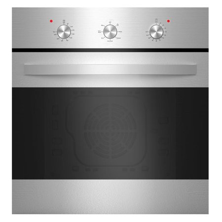 "Empava 24"" Stainless Steel Electric Built-in Convection Wall Oven"