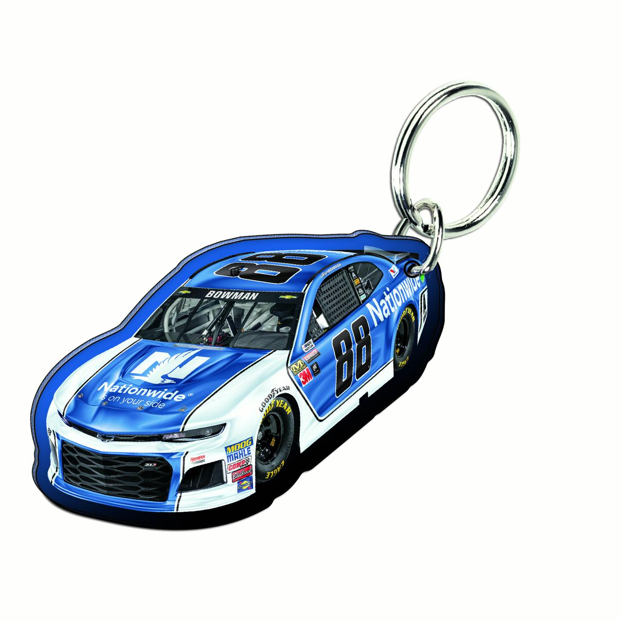 Alex Bowman WinCraft Car Acrylic Key Ring - No Size
