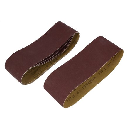 Woodworking 533mmx75mm 400 Grit Abrasive Sanding Belt Sandpaper
