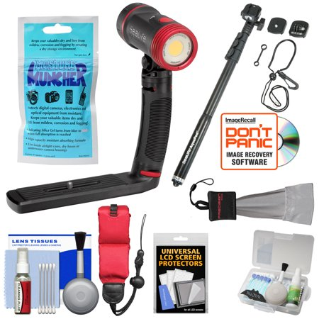 Sealife Sl671 Sea Dragon 2500 Uw Photo Video Dive Light Kit With Aquapod   Silica Gel   Floating Strap   Accessory Kit