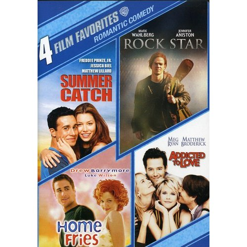 4 Film Favorites: Romantic Comedy: Summer Catch / Rock Star / Home Fries / Addicted To Love (2-Disc) (Widescreen)