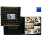 Raika RO 113-D BLUE Frame Front Scrapbook Album - Blue