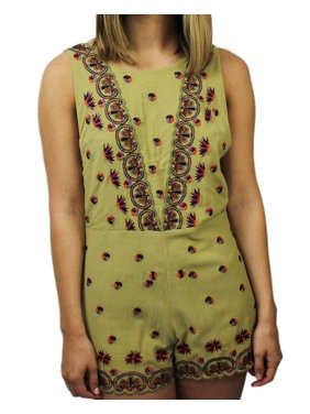 Free People Women's Margarita Embroidered Romper