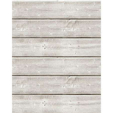 Jillibean Soup Mix The Media Wooden Plank 18 X24 Weathered White