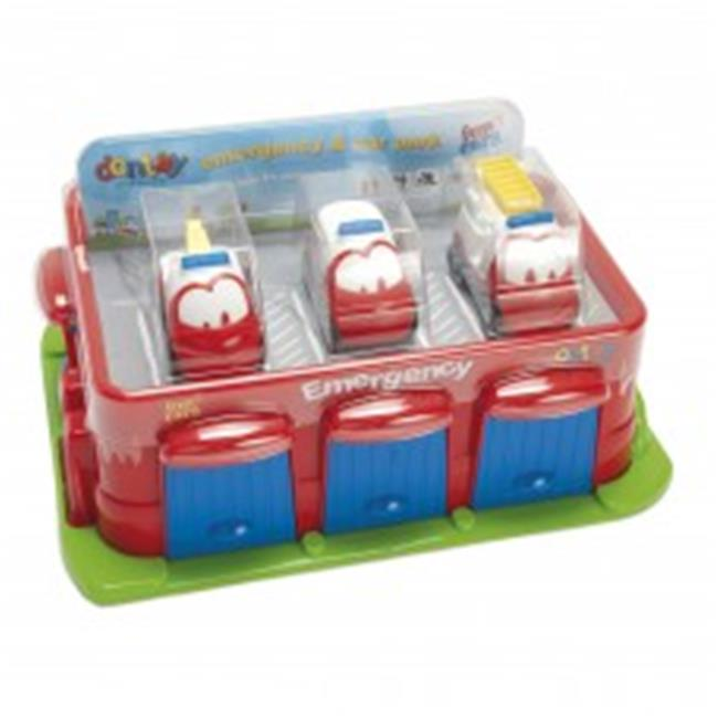 American Educational DT-7540 Emergency & Carpark Blister Baby Toy