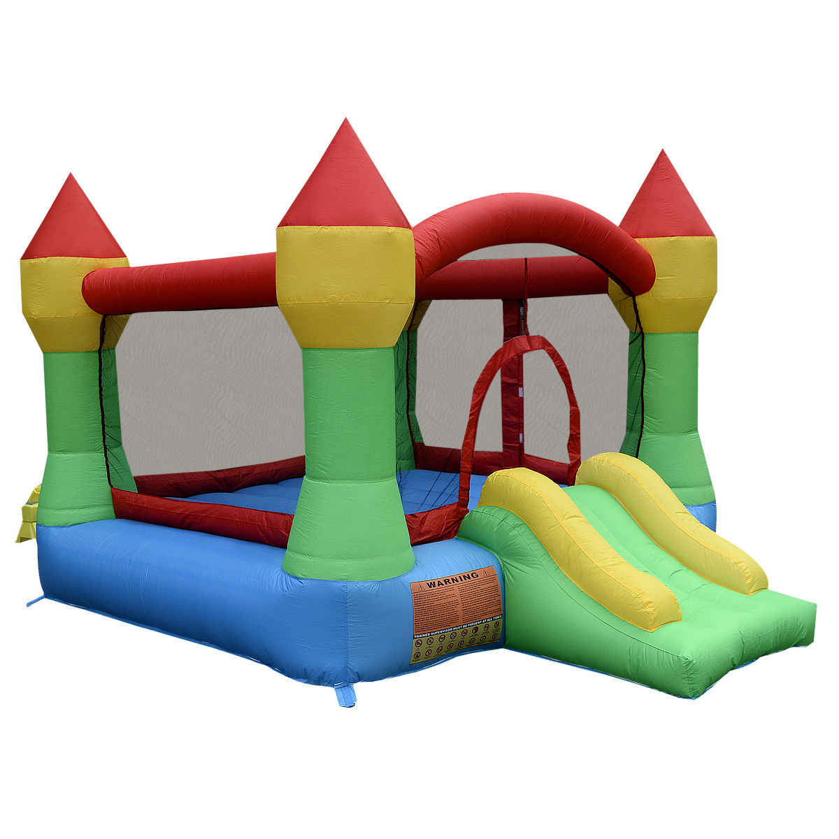 Costway Inflatable Mighty Bounce House Castle Jumper Moon...