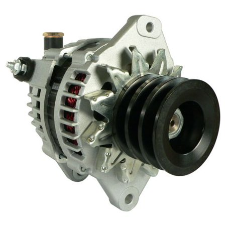 DB Electrical AHI0145 New Alternator For Hitachi Isuzu Truck Lr1110-501 8972482970 Heavy Duty 12 V 110 Amp LR1110-501BAM LR1110-501BR 97729118 LR1110-501 2902768400 8972482970 8972482971 400-44066 Heavy Duty Alternator Rotors