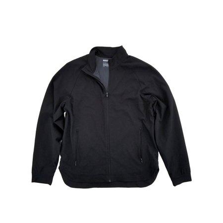 7bb12595176a MSX By Michael Strahan Mens Black Lightweight Softshell Jacket Large -  Walmart.com