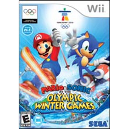 Mario and Sonic at the Olympic Winter Games - Nintendo Wii (Refurbished)