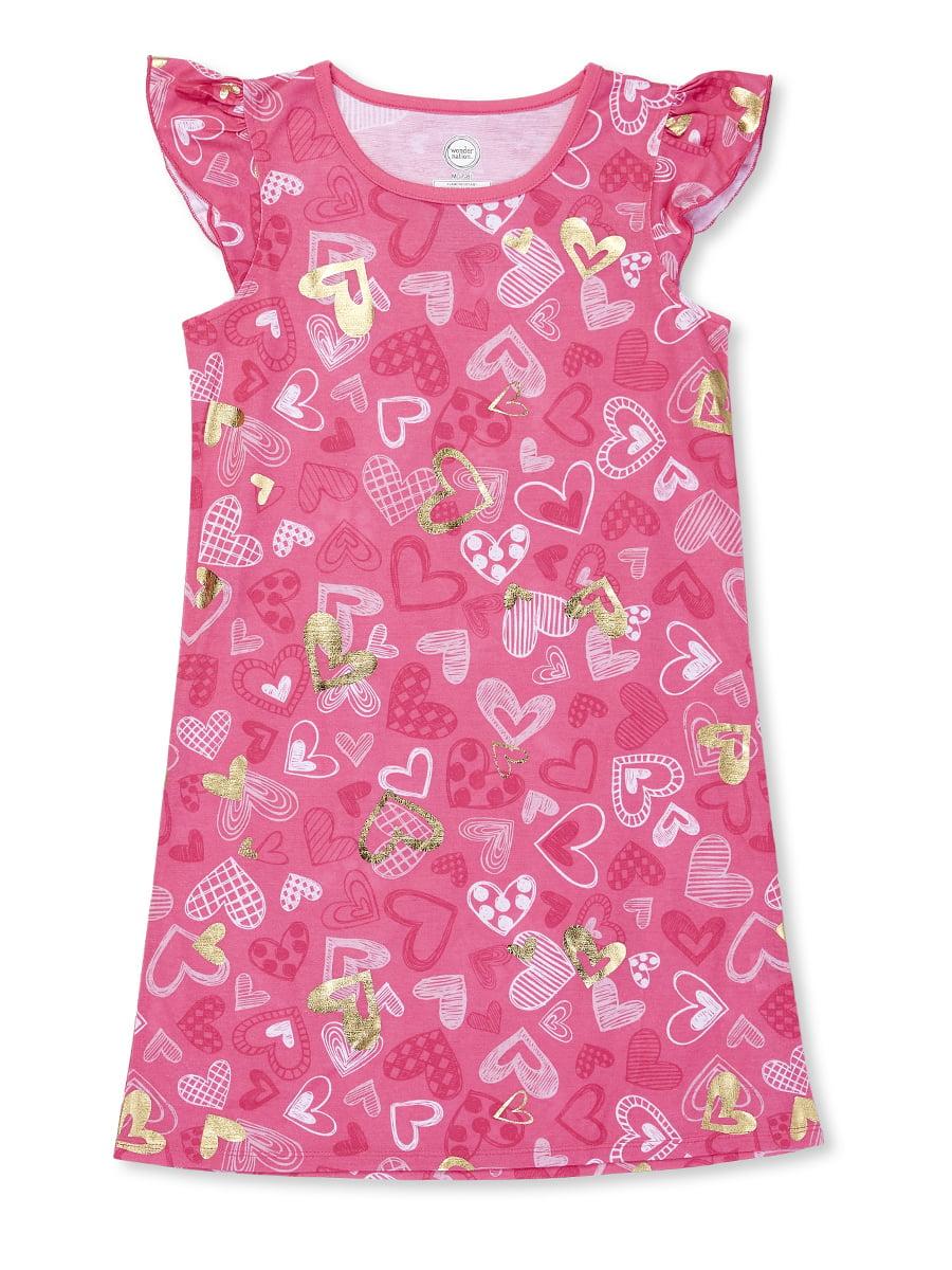 Girls' Wonder Nation Pajama Gown (Little Girl & Big Girl)
