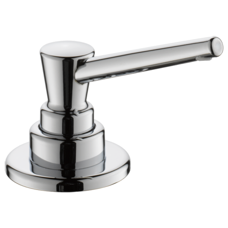 Delta Soap / Lotion Dispenser in Chrome - Brass Chrome Soap Dispenser