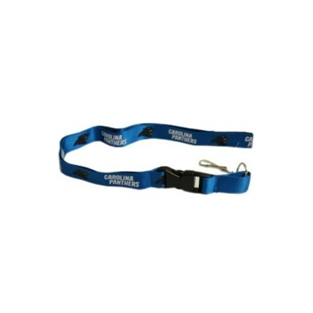 Carolina Panthers Official Nfl 24 Inch  Breakaway Lanyard Key Chain Keychain By Pro Specialties Group