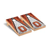 Oregon State Beavers 2' x 4' Alternate Weathered Triangle Cornhole Board Tailgate Toss Set