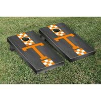 Tennessee Volunteers 2' x 4' Onyx Striped Cornhole Board Tailgate Toss Set - No Size