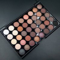 Cosmetics Makeup Eyeshadow Palette Natural 40 Colors Set Earth color Waterproof