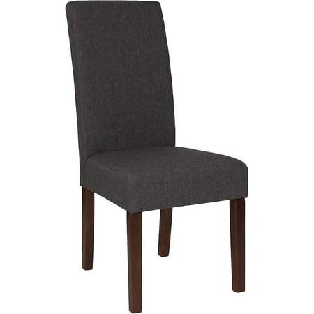 Lt Gray Fabric Parsons Chair - image 7 de 8