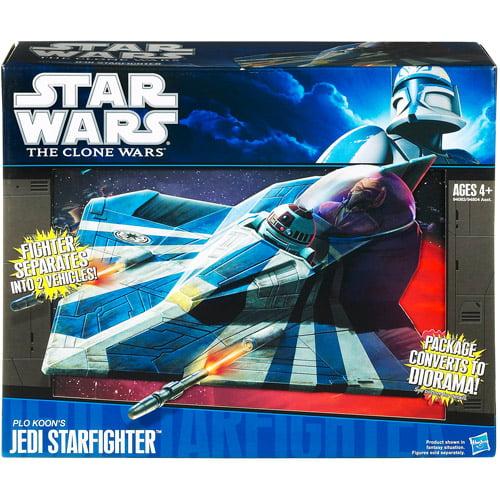 Hasbro Star Wars Vehicles 2010 Plo Koon's Jedi Starfighter