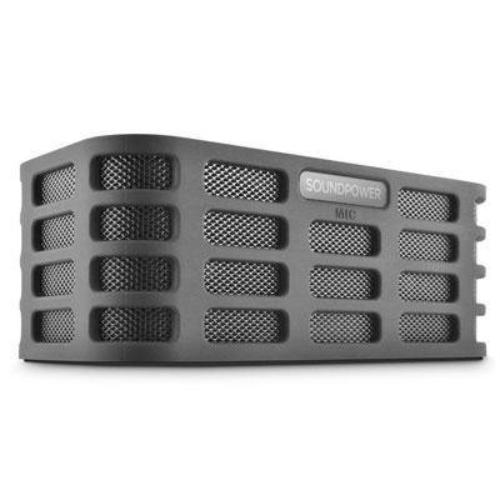 Ematic Soundpower Speaker System - Portable - Battery Rechargeable - Wireless Speaker[s] - 20 Hz - 20 Khz - Bluetooth - Usb - No - Built-in Battery, Rechargeable Battery, Usb Charging (soundpower)