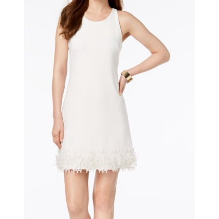 Julia Jordan Women's Lace Applique Hem Shift Dress