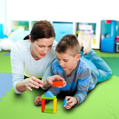 FlooringInc Premium Soft Foam Tiles 2'x2' Interlocking Soft Kid Tiles 5/8