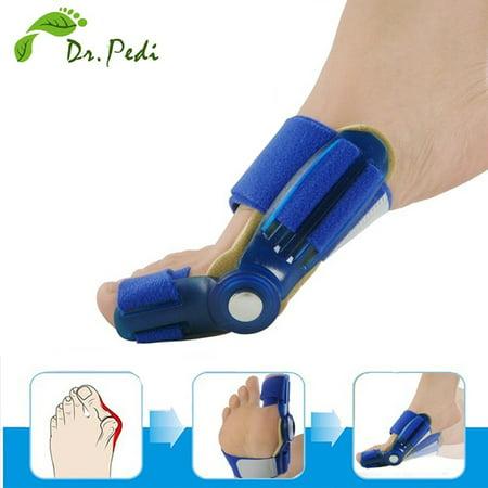 1 Pair Dr.pedi Orthotics Braces Big Bone Toe Hallux Valgus Foot Pain Relief Feet Guard Care Bone Corrective Bunion Night Day Splint