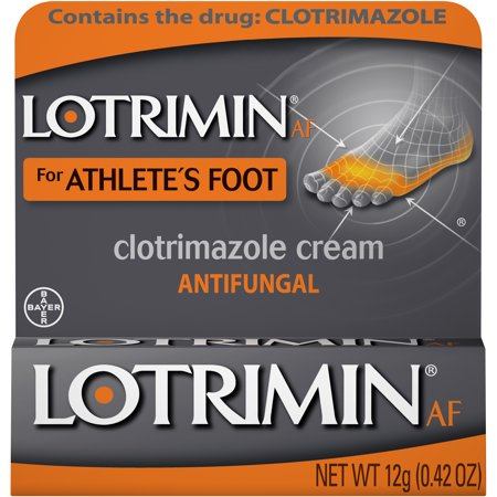 Lotrimin AF Athlete's Foot Antifungal Cream, 0.42 Ounce Tube