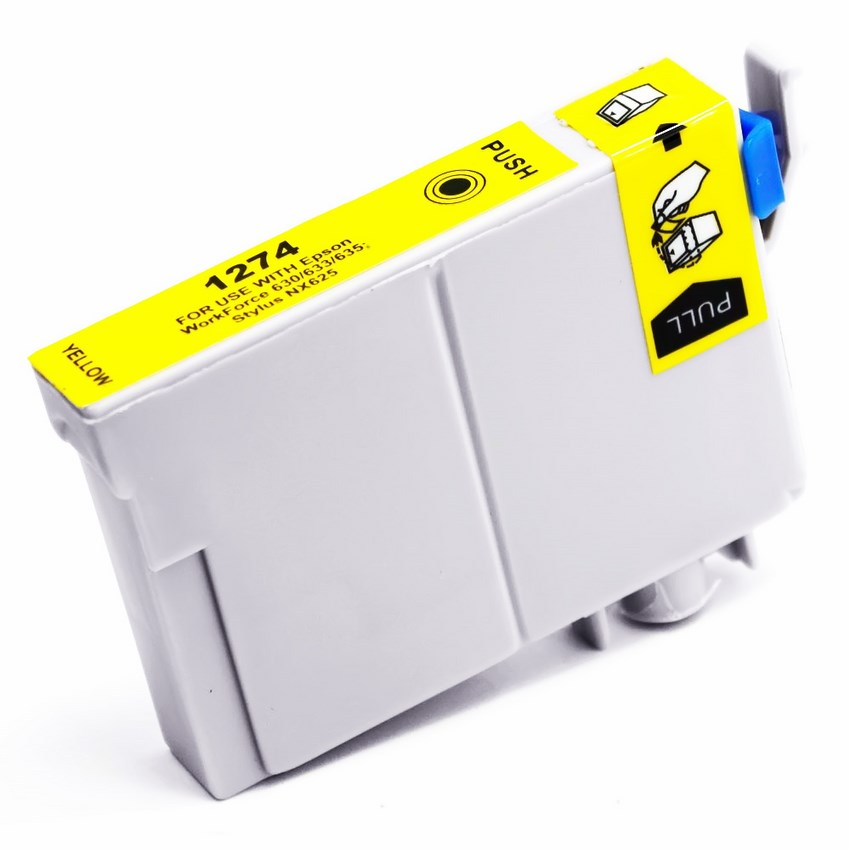 Epson Workforce 840 Ink Cartridge (Yellow Extra High Yield) (Compatible)