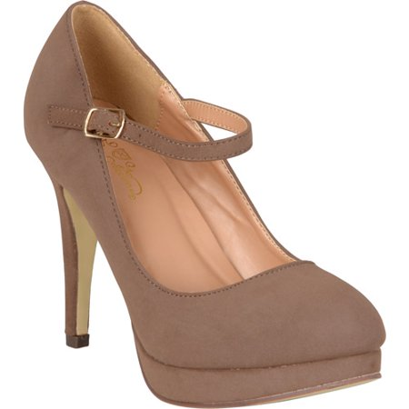 Women's Platform Mary Jane Pumps