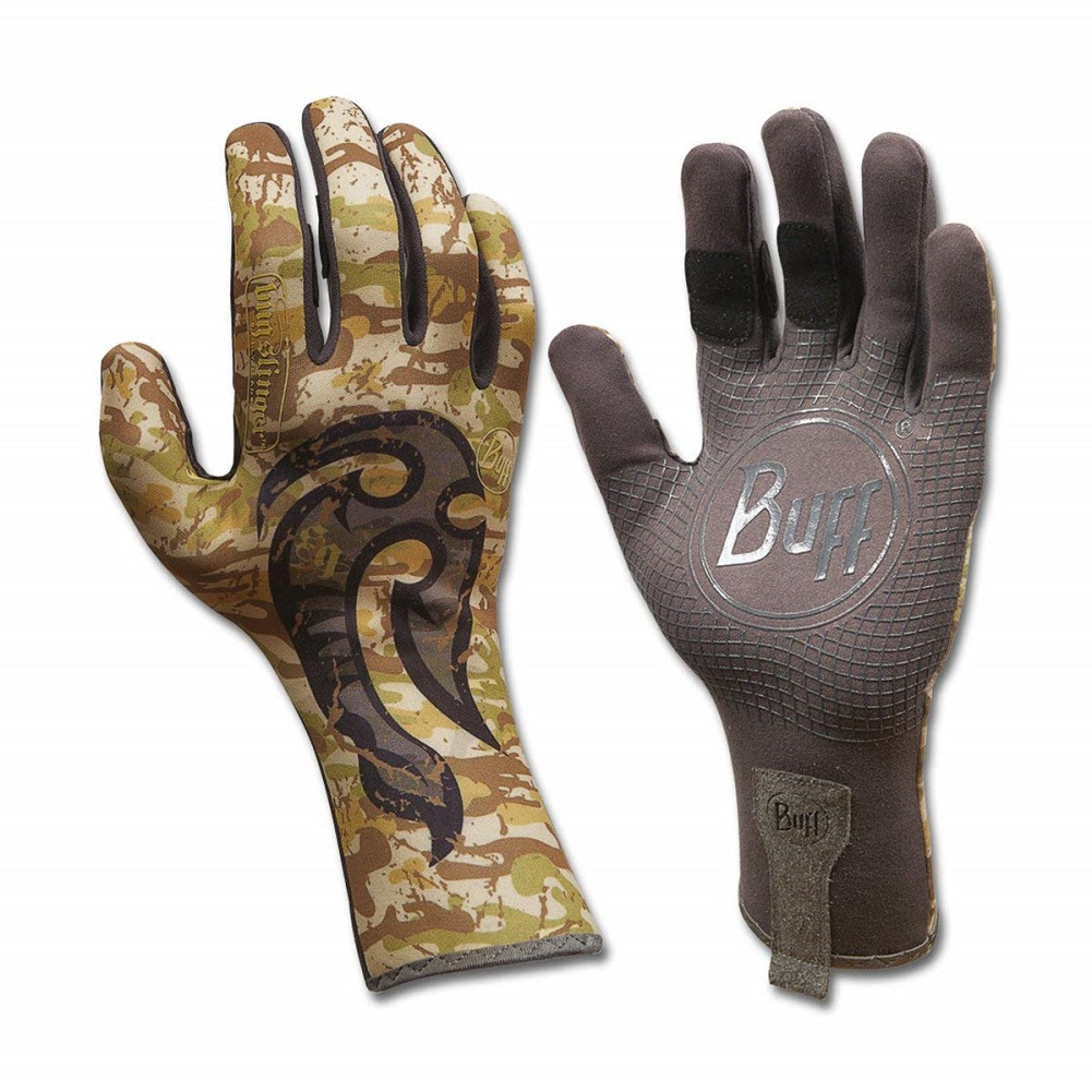 Buff Sports MXS Gloves Midweight Cross Sport Bug Slinger Maori Hook, XS/S