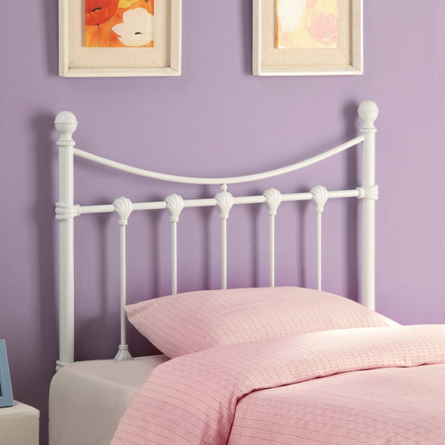 Coaster Twin Metal Headboard, White