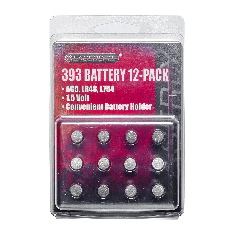 LaserLyte 393 Battery 12 Pack