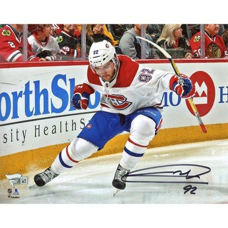 Jonathan Drouin Montreal Canadiens Autographed 8   X 10   Goal Celebration Photograph   Fanatics Authentic Certified