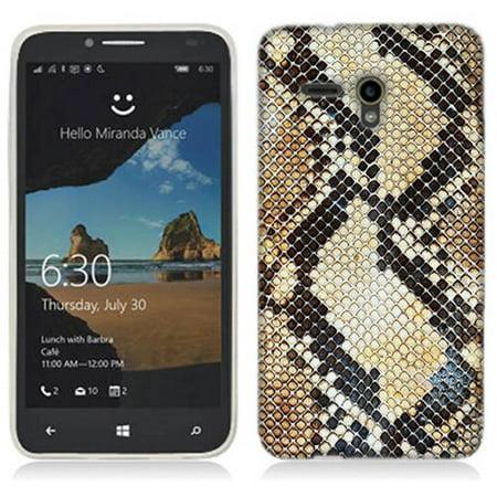Mundaze Snake Skin Phone Case Cover for Alcatel OneTouch Fierce XL