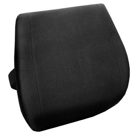 comfort products memory foam massage lumbar cushion with heat. Black Bedroom Furniture Sets. Home Design Ideas