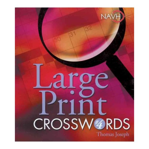 Large Print Crosswords 4