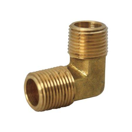 Fpt Brass 90 Deg Elbow (Jmf 90 Degree Elbow 90 Deg. 3/8