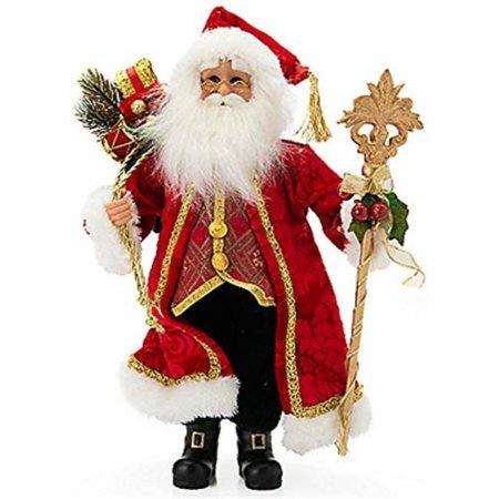 Karen Didion Traditional Red Santa -