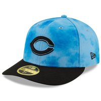 Cincinnati Reds New Era Father's Day On-Field Low Profile 59FIFTY Fitted Hat - Blue/Black