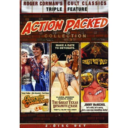 The Roger Corman Action Packed Collection  The Georgia Peaches   Smokey Bites The Dust   The Great Texas Dynamite Chase