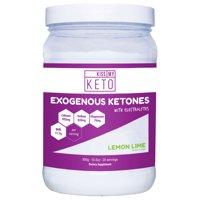 Kiss My Keto Exogenous Ketones Supplement - Electrolytes Powder Drink, Lemon Lime, GoBHB Salts Ketogenic Supplement, Beta Hydroxybutyrate, Increase Energy, Get Into Ketosis