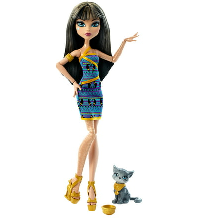 Monster High Ghoul S Beast Pet Cleo De Nile Doll - Cleo De Nile