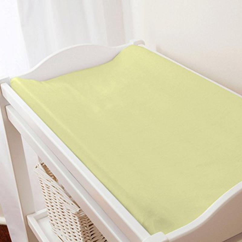 Carousel Solid Light Lime Changing Pad Cover