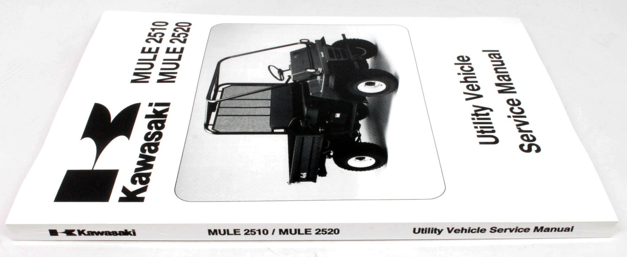 Kawasaki 1993-1995 1997-2000 Mule 2500 2510 2520 4x4 UTV Service Manual  99924-1163-03 New OEM - Walmart.com
