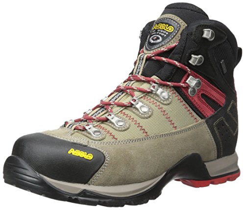 0M3400_508 Asolo Men's Fugitive GTX Hiking Boots Wool Black by Asolo Hiking Boots
