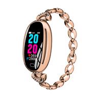 Women Fitness Smart Bracelet Waterproof Smart Watch Heart Rate Monitor Blood Pressure Measurement Activity Tracker