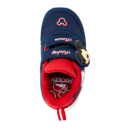 Disney Mickey Mouse Two Strap Athletic Sneaker (Toddler Boys)