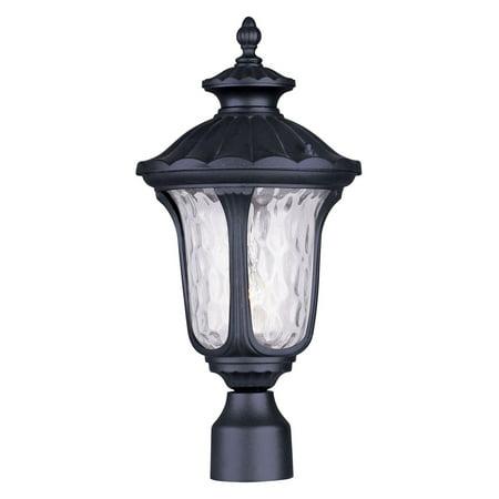 Oxford Selection Post - Livex Lighting Oxford 1 Light Outdoor Post Lantern